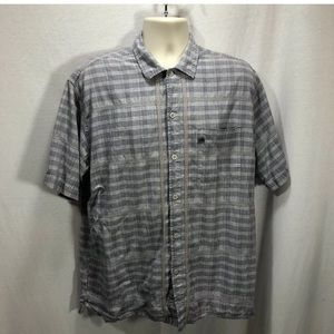 4/$35 The North Face Men's large Button up shirt